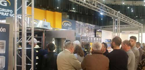 Stand de GPG GRUPO PRAT GOUET en la Feria INTERSICOP