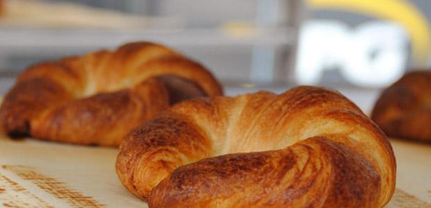 Croissants cocidos en hornos STATIC PLUS