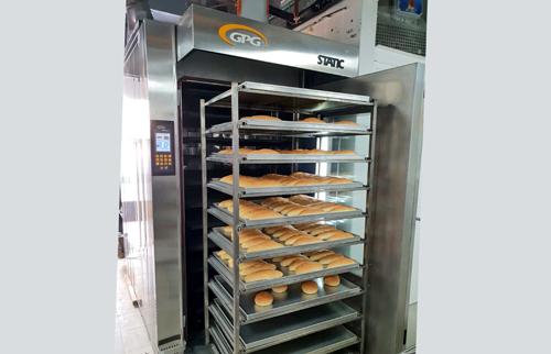 Horno para panaderia de aceite termico STATIC GPG