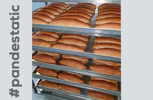 Pan de static cocido en horno para panaderia STATIC GPG