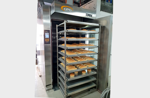 Rack Thermo Oil Baking Ovens STATIC