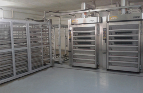 Thermo oil STATIC REFRAC stone baking ovens