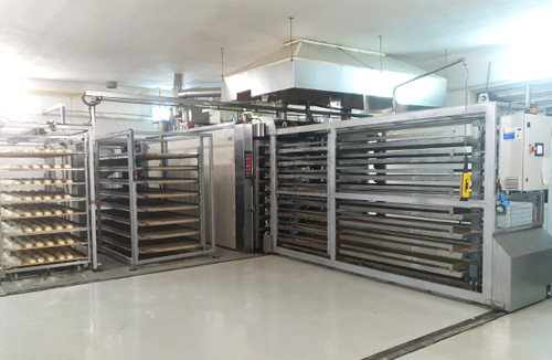 Stone baking thermo oil STATIC REFRAC bakery ovens