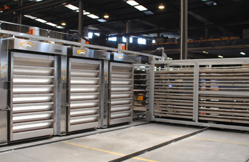 Thermo oil stone baking STATIC REFRAC bakery ovens