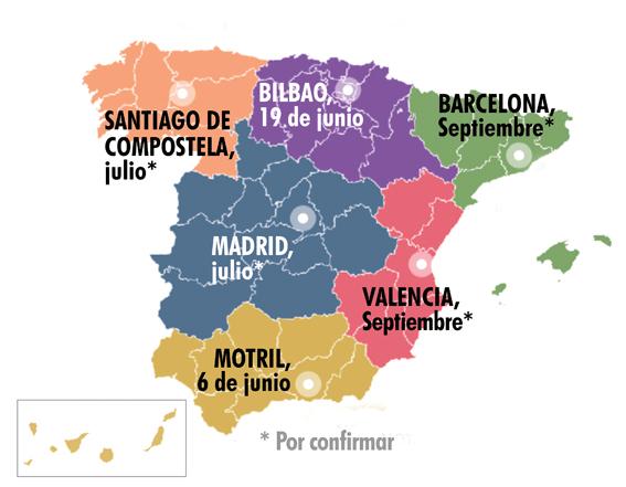 Semifinales Ruta Española Buen Pan