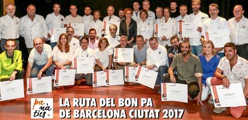 Ruta del Bon Pa Barcelona 2017