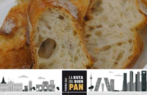 Ruta del Buen Pan Madrid 2017