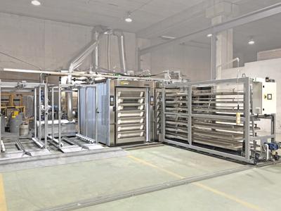 Instalación hornos panadería aceite térmico STATIC PLUS